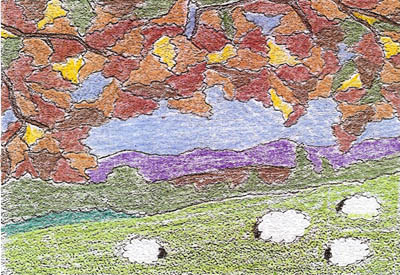 autumne sheep